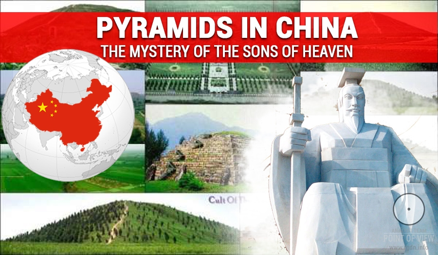 Pyramids in China. Secrets of the Sons of Heaven