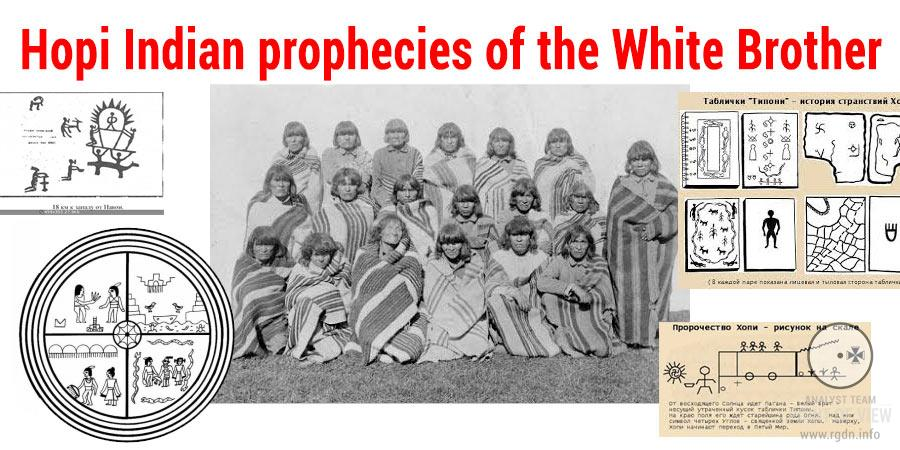 Hopi Indian prophecies of the White Brother