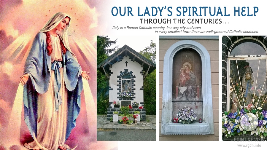 Our Lady's spiritual help through the centuries... Santa Maria аlla Fontana