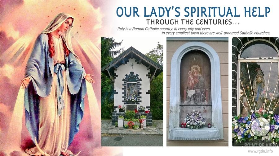 Our Lady's spiritual help through the centuries... Santa Maria аlla Fontana