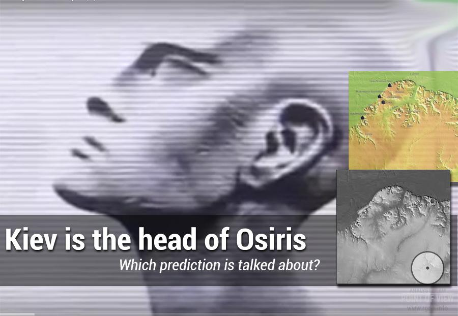 Kiev is the head of Osiris. Which prediction is talked about?