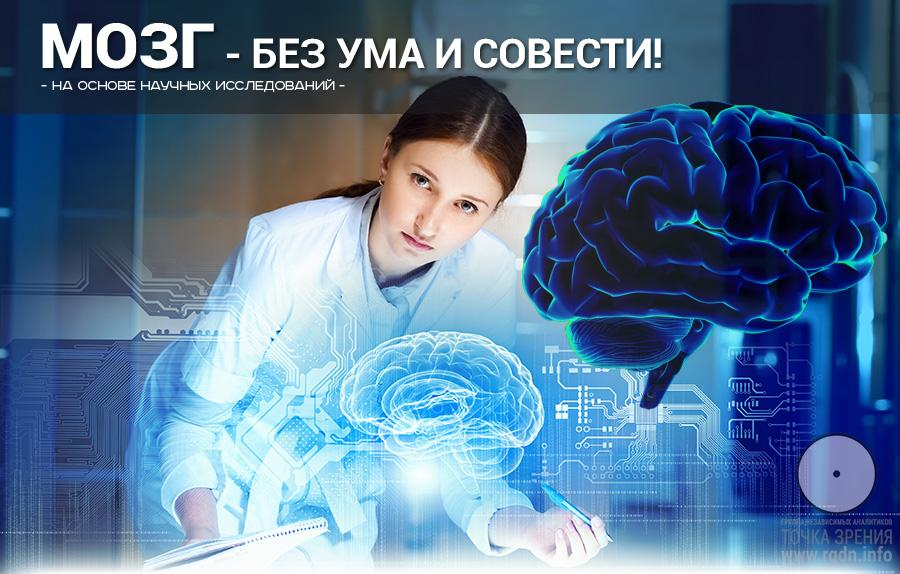 Мозг без ума и совести.