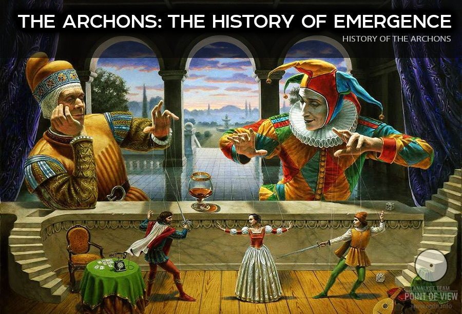 The Archons. Secret masters of the world