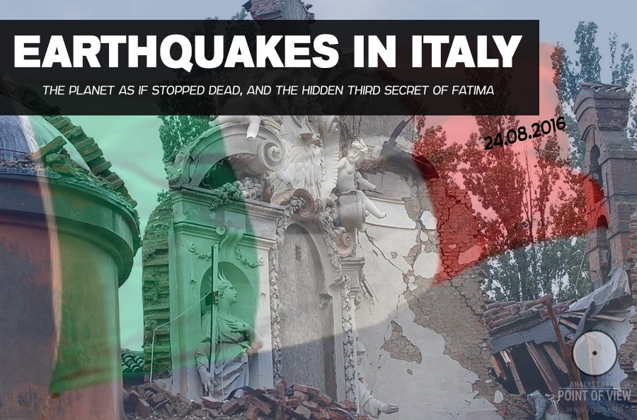 Earthquakes in Italy. Why has the planet stopped dead?