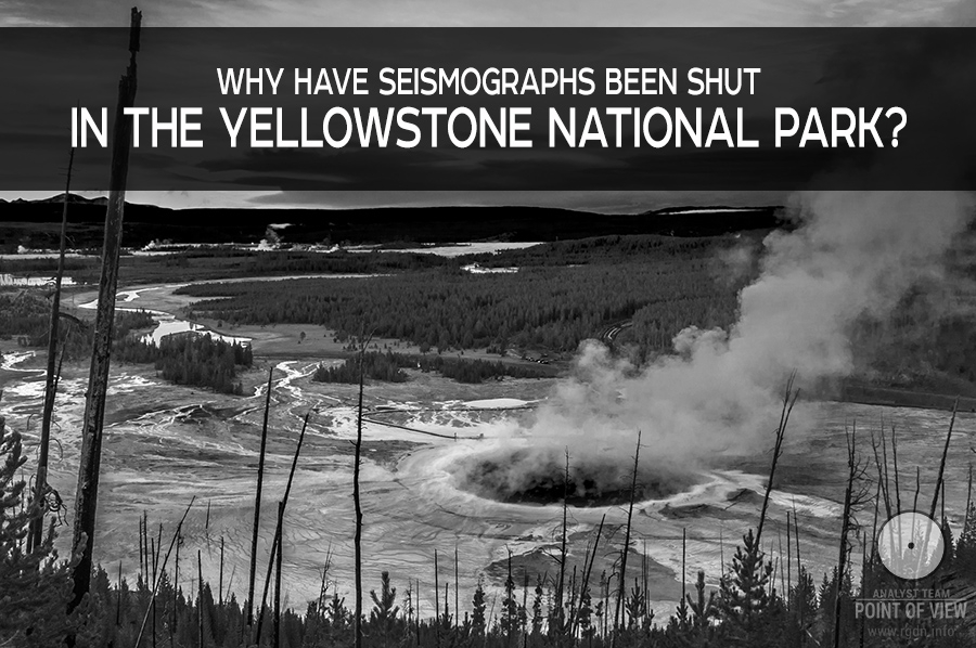 Seismographs that record the Yellowstone activity are no more open for the public