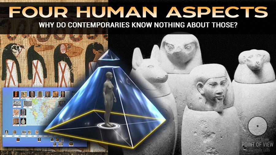 Four human Aspects. Why do contemporaries know nothing about those?