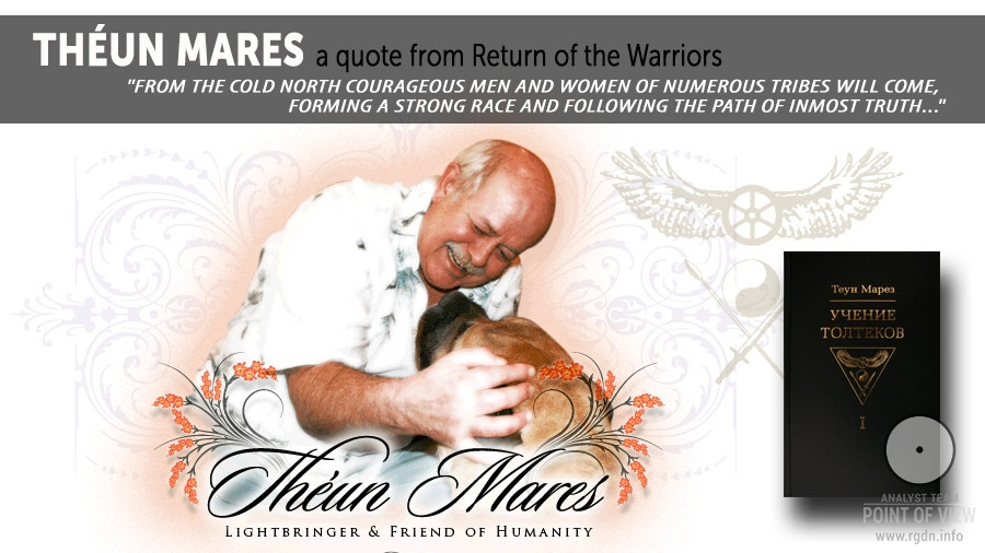 Théun Mares. Quote from Return of the Warriors