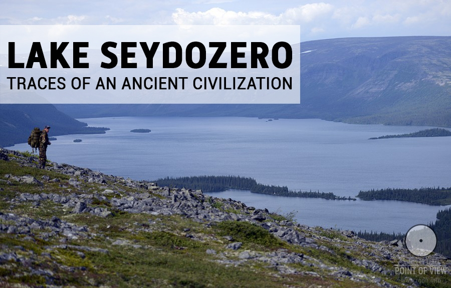 Lake Seydozero. Traces of an ancient civilization