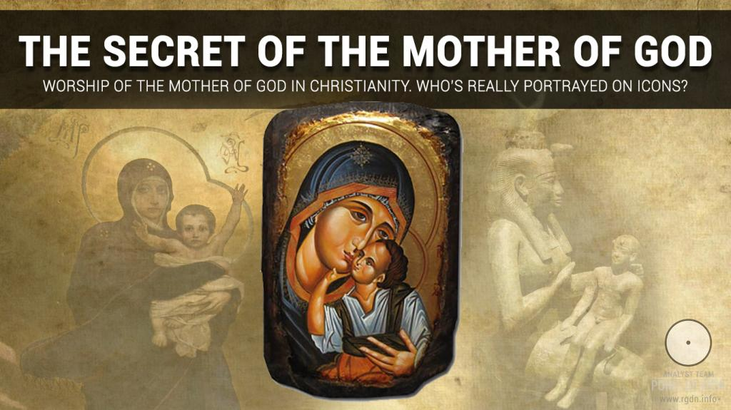 Worship of the Mother of God in Christianity. Who's really portrayed on icons?