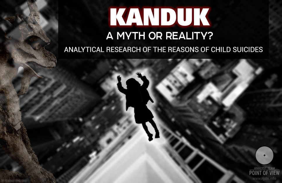 Kanduk. A myth or reality? Why do children jump out of windows?