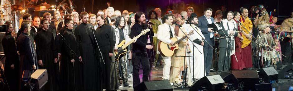 Единение! Представители 5 религий объединились для исполнения песни