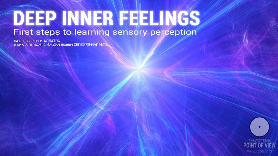 Deep inner feelings. First steps to learning sensory perception