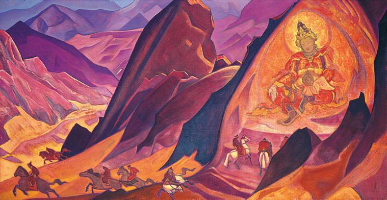 Ригден Джаппо, картина Рериха