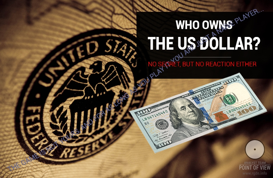 Who owns the US dollar?