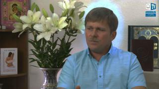 Странное свечение вокруг головы И.М.Данилова в передаче