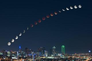 Лунное затмение ( 28.09.2015). Кровавая луна.