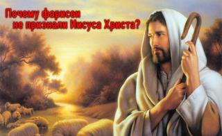 Почему фарисеи не признали Иисуса Христа?