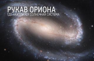 Рукав Ориона. Или где находится Солнечная система.