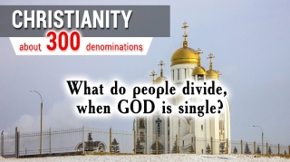 Христианство. Около 300 ветвей. Что делят, когда Бог един?