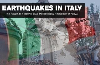 Землетрясения в Италии. Почему застыла планета?