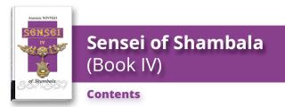 Сэнсэй. Исконный Шамбалы (Книга четвертая). Содержание.