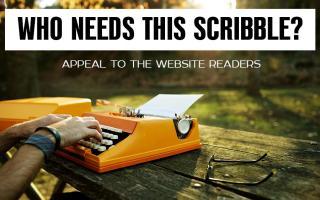Кому нужна эта писанина? Обращение к читателям сайта.