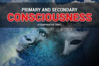 Первичное и вторичное сознание. Сравнительная таблица.