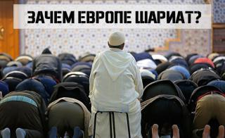Зачем Европе шариат?