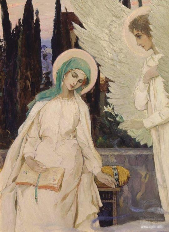 Mikhail Nesterov. The Annunciation
