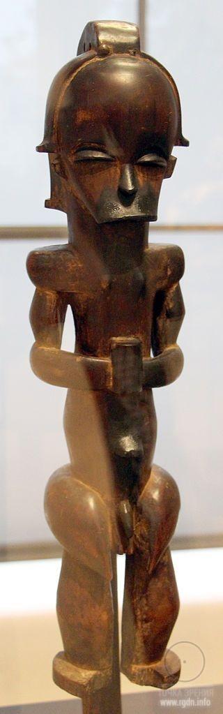 Gabon fang guardiano di reliquiario xix sec