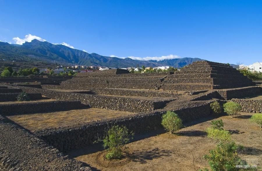 пирамиды на Тенерифе, Гуимар, карта