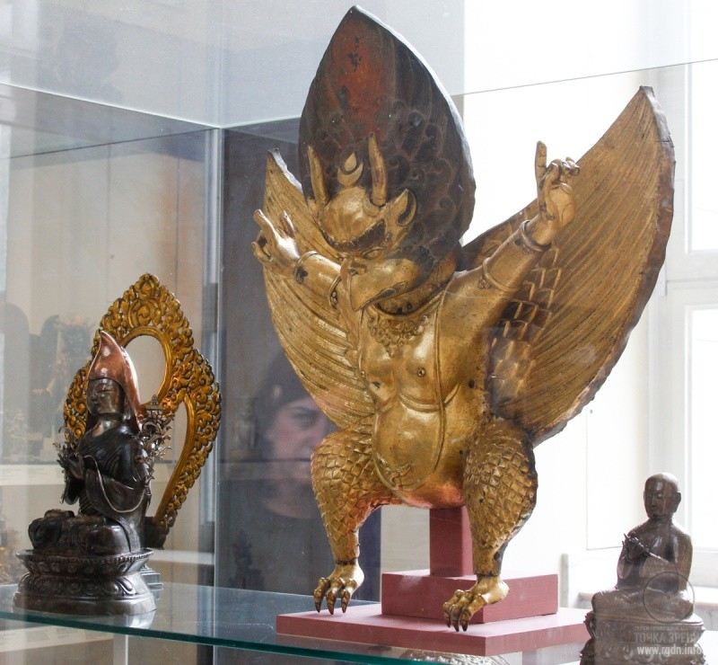 Garuda and the AllatRa sign