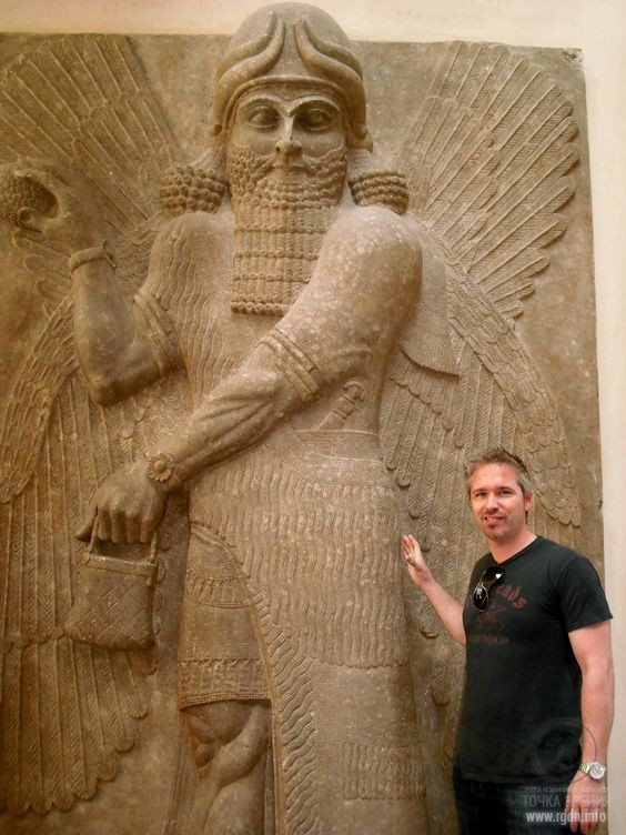 Gilgamesh, the king of the Sumerian city of Uruk, who ruled there between 2800 and 2500 BC