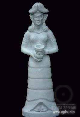 Инанна была королевой семи храмов по всей Шумера