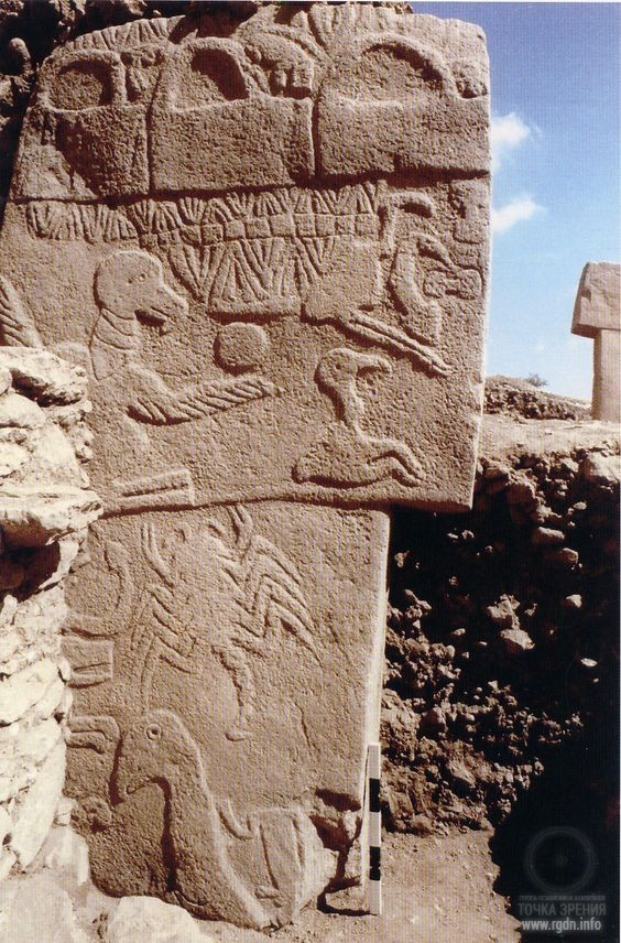 The Vulture Stone. Göbekli Tepe