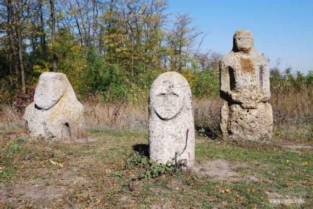 скифские каменные бабы, Украина