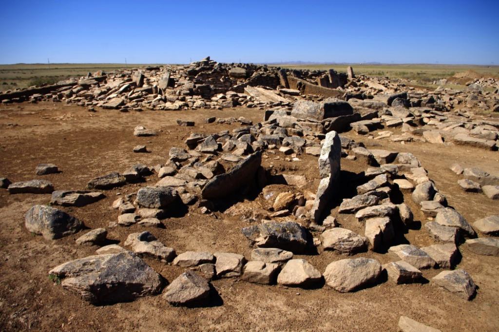 пирамида в Казахстане