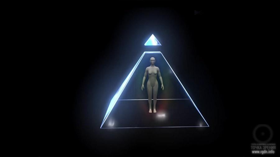 Пирамида - энергетическая конструкция человека