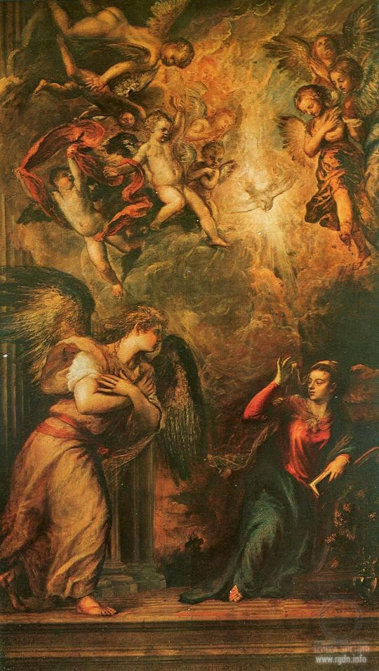 Tiziano Vecellio. The Annunciation