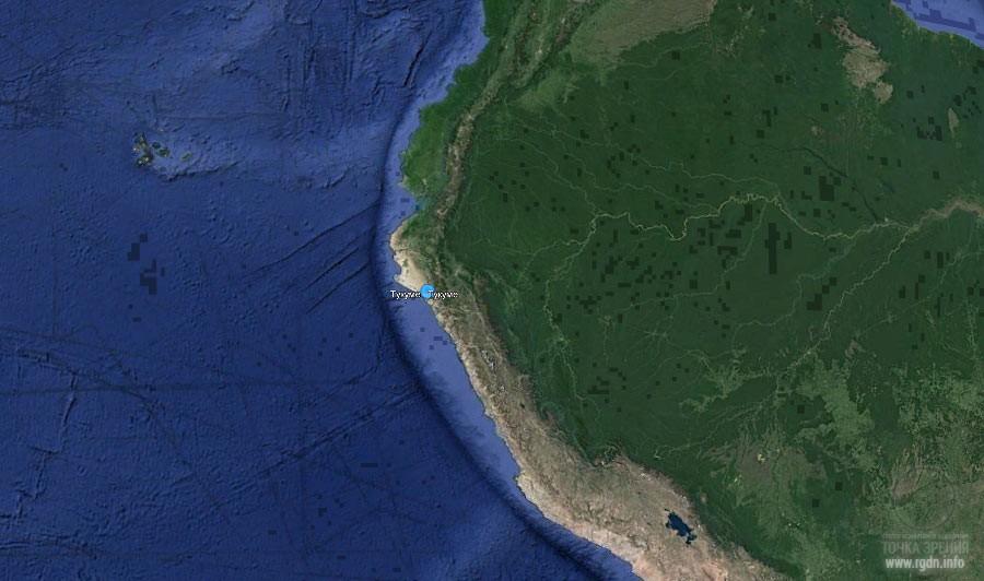Перу, тихоокеанское побережье