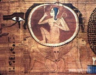 Serpent biting its own tail (Egyptian mythology)