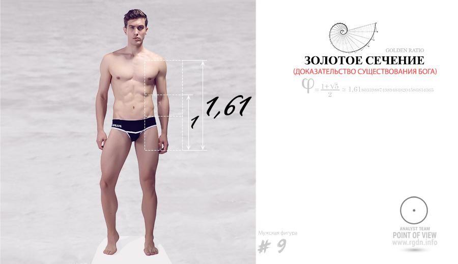 фотографии идеального мужского тела по золотой пропорции