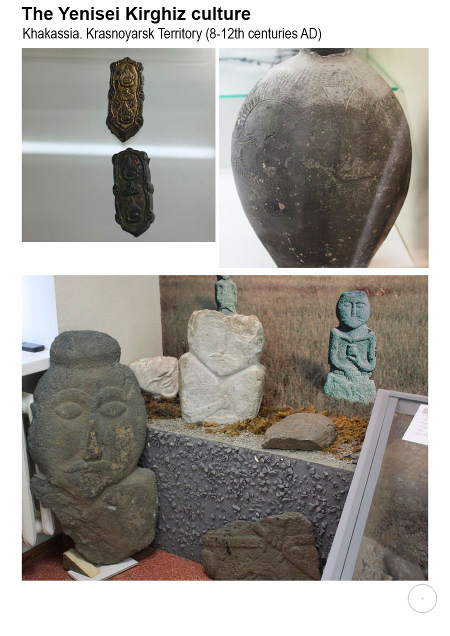 Signs and symbols in the artifacts of the museums of Siberia and the Far East.