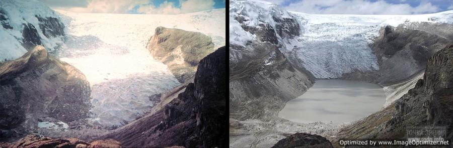 Ледник Кори Калис, Перу:     ранее - 2011 год
