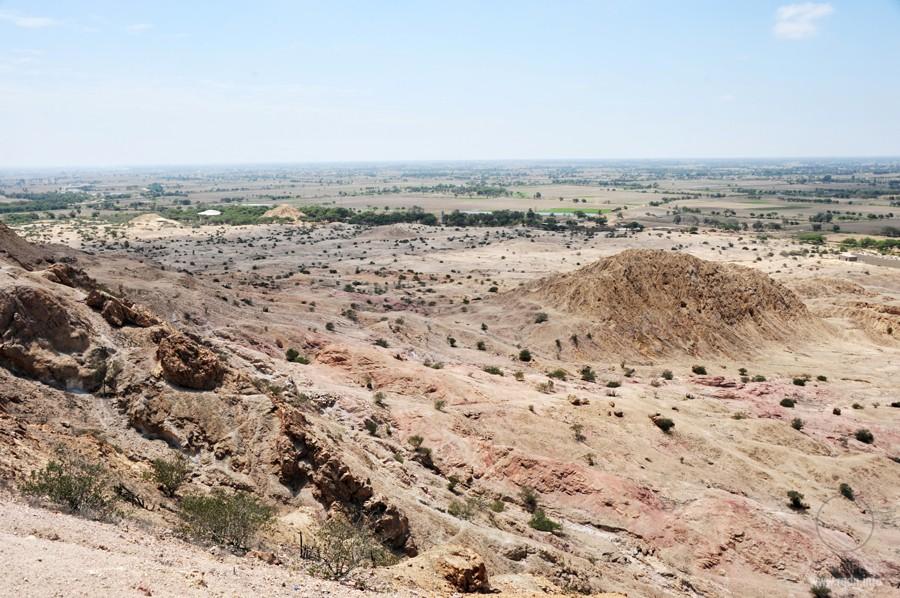 пирамиды Тукуме в долине Ламбайеке (Lambayeque)
