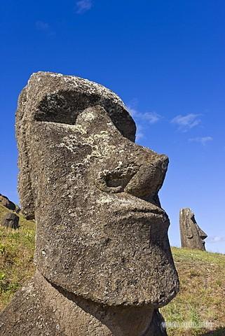 мауи на острове Пасхи