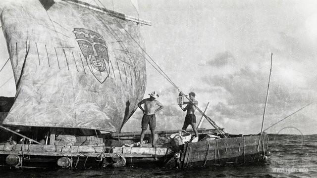 кон тики лодка Тур Хейердал