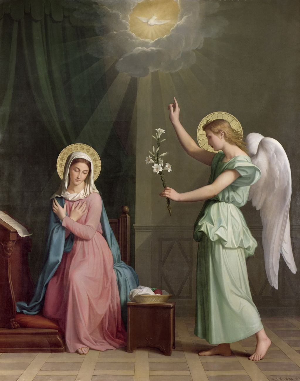 Image result for lily annunciation