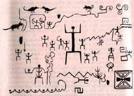 индейцы хопи рисунки