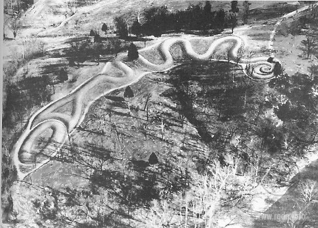 Serpent Mound Змеиный курган (Серпент-маунд)